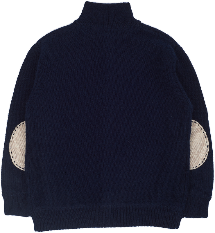 Boy - Raymond Cashmere High Neck Cardigan
