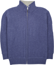 Boy - Emanuele Cashmere High Neck Cardigan