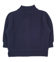 Baby Boy - Malaga Cashmere Reversible High Neck Cardigan