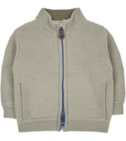 Baby Boy - Mattia 100% Cashmere High Neck Cardigan