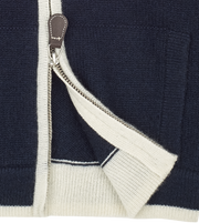 Baby Boy - Jorge 100% Cashmere High Neck Cardigan