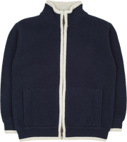 Boy - Jorge 100% Cashmere High Neck Cardigan