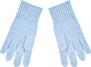 Boy - Ashley 100% Cashmere Gloves With Ribbed Hem