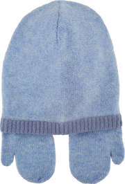 Baby Boy - Matteo Cashmere Hat With Mitten Style Ear Flaps
