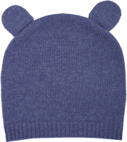 Baby Boy - Teddy 100% Cashmere Teddy Bear Hat