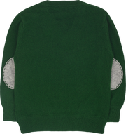 #Christmas Green l Light Grey
