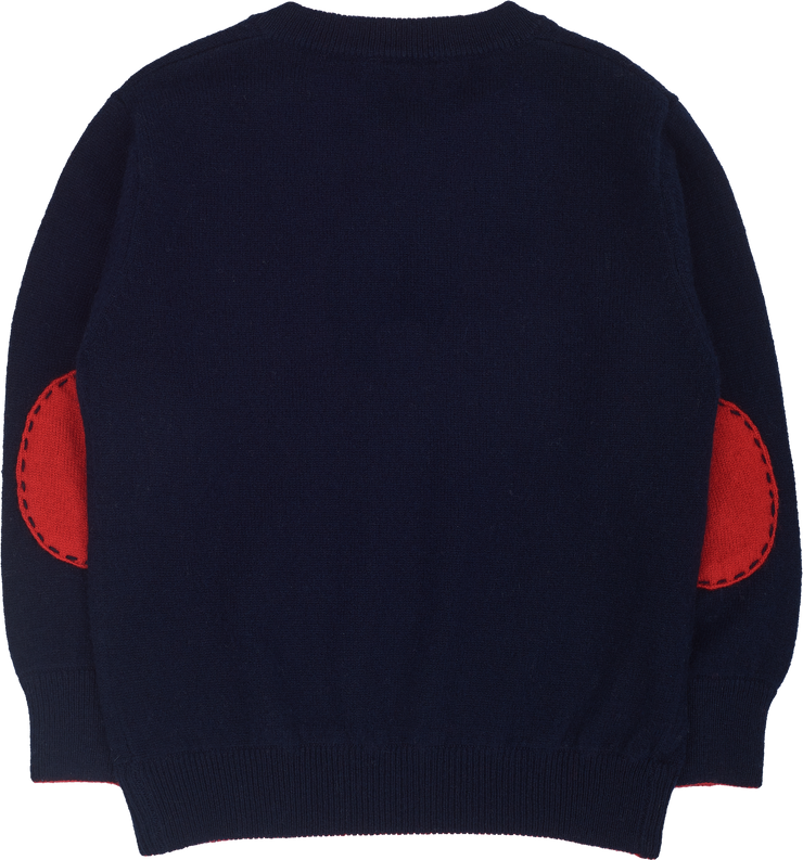 #Navy Blue l Christmas Red