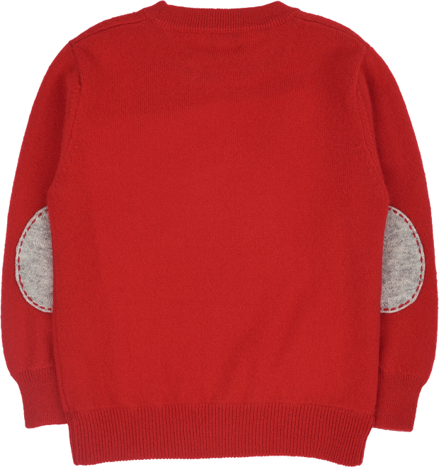 #Christmas Red l Light Grey