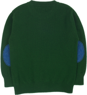 #Christmas Green l Dark Blue