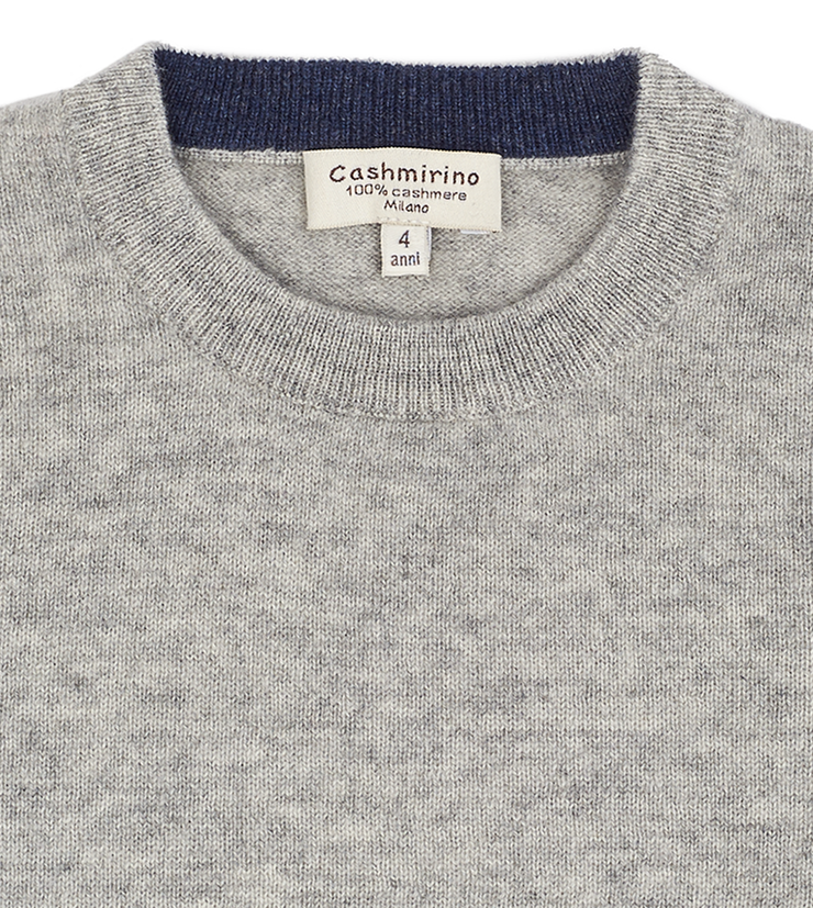 Teen Boy - Nico 100% Cashmere Crew Neck Jumper