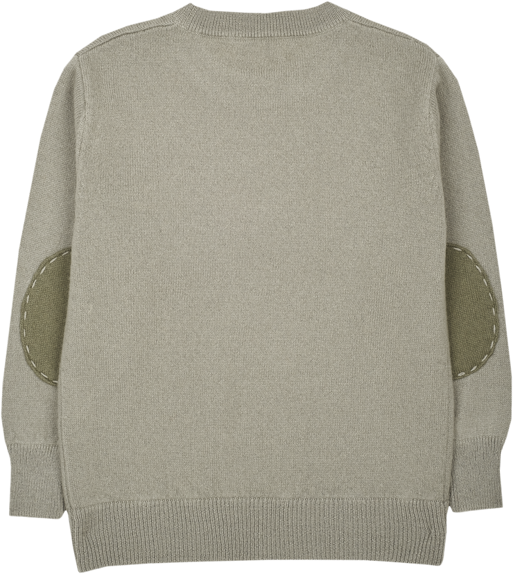#Elephant Grey l Olive Green