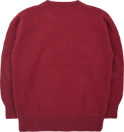 Boy - Cashmere Round Neck Jumper With Elbow Patches