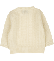 Baby Boy - Rice knitting jumper 100% Cashmere Jumper