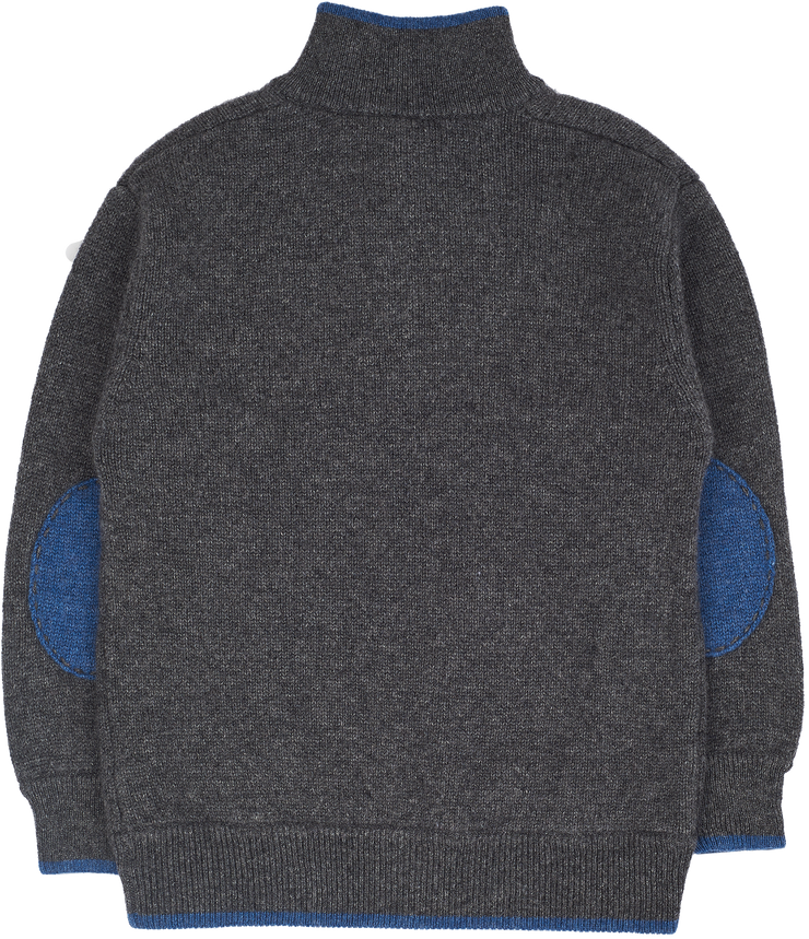 Boy - 100% Cashmere High Neck Jumper