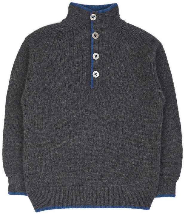 Boy - Cashmere High Neck Jumper