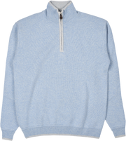 Men - Leon Cashmere High Neck Jumper