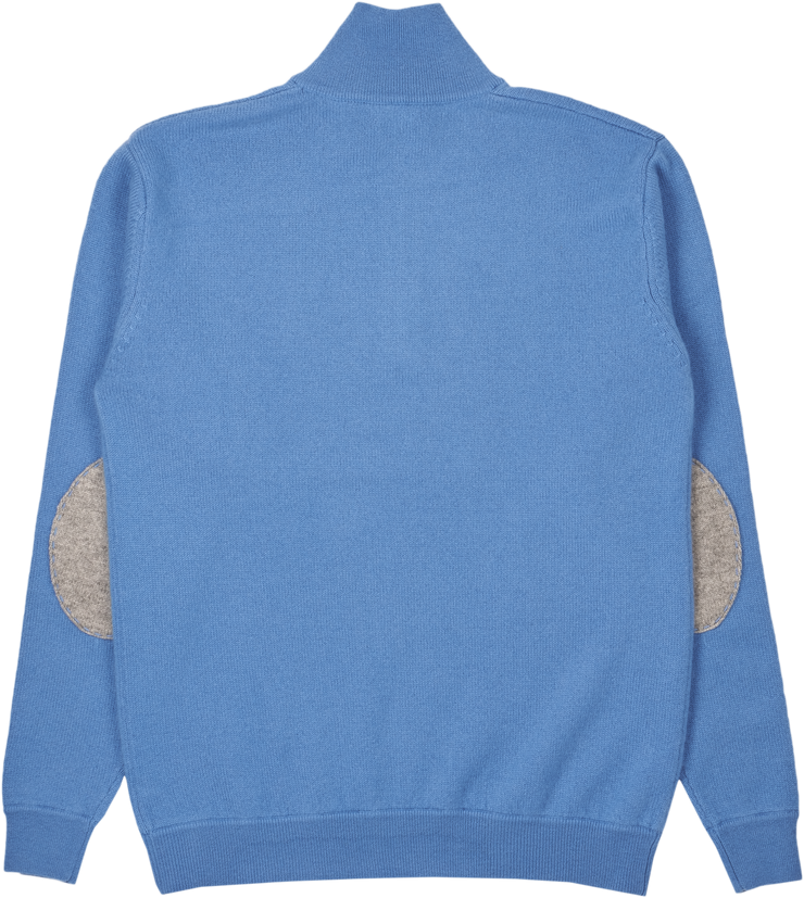 Men - Sebastian Cashmere High Neck Jumper