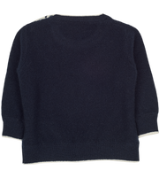 #Navy Blue l Off White