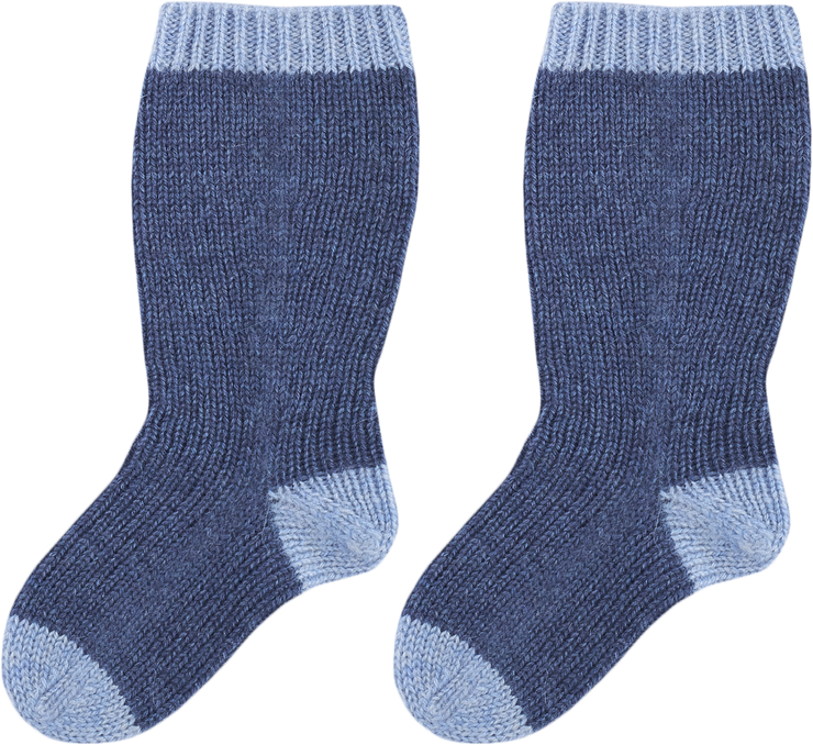 Baby Boy - Reagan 100% Cashmere Knitted Socks