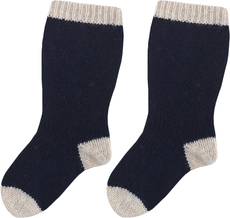 Baby Boy - Omar Cashmere Knitted Socks