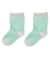 Baby Boy - 100% Cashmere Colour Detail Socks