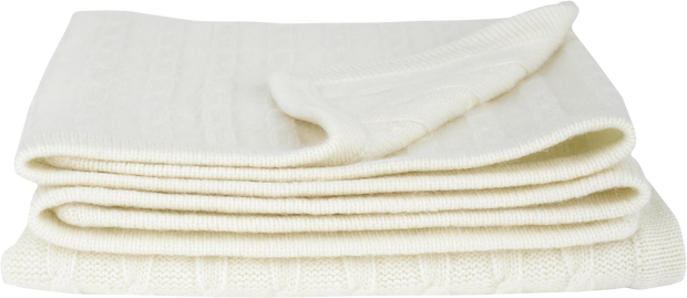 Baby Unisex - Cashmere Cable Knit Blanket