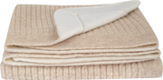 Baby Unisex - Cashmere Reversible Cable Knit Blanket