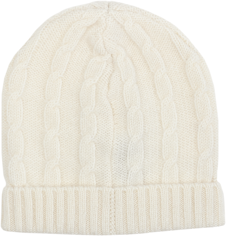 Baby Unisex - Cashmere Cable Knit Hat