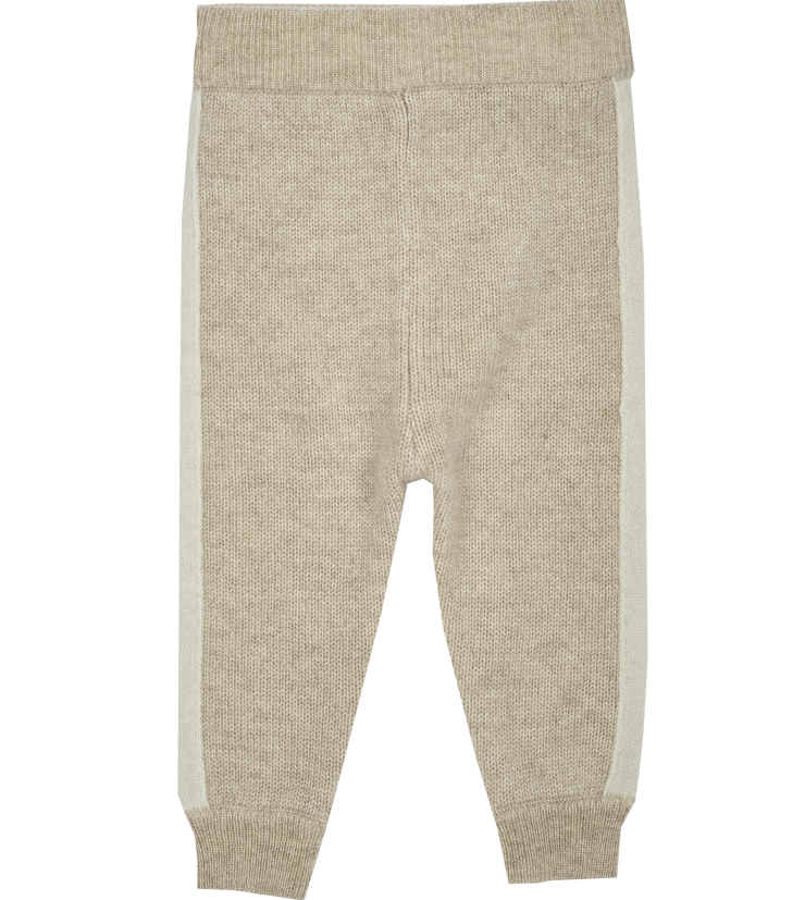 Baby Unisex - Cashmere Joggers With Borders