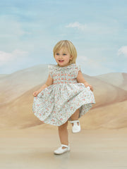 Girl - Monica 100% Cotton Smocked dress