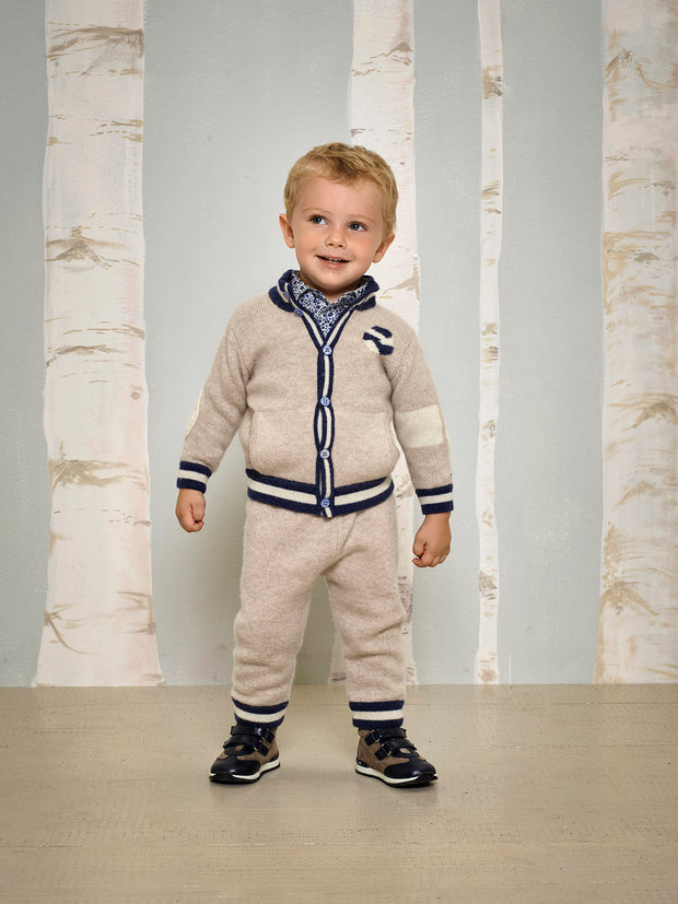 Baby Boy - Lorenzo Cashmere Trousers
