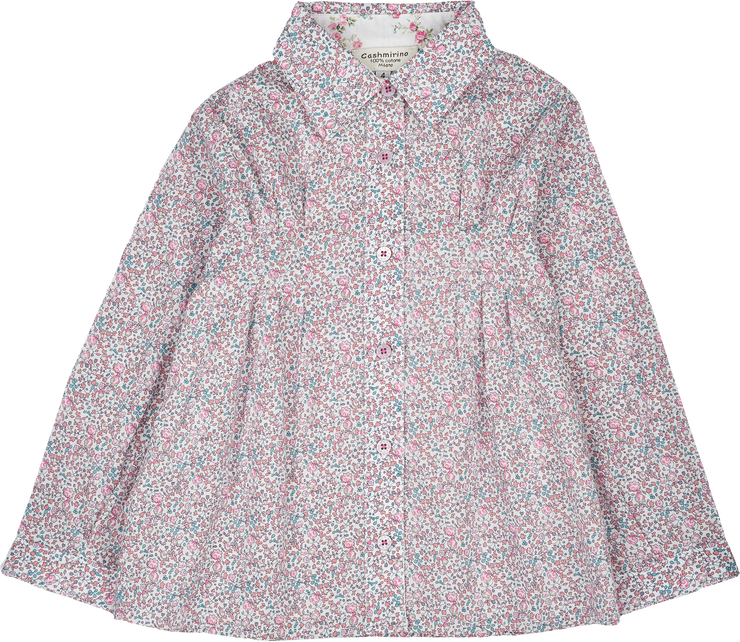 Girl - Rosie Cotton Floral Blouse