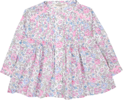 Baby Girl - Roma Cotton Grandad Collar Blouse