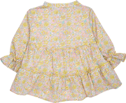 Baby Girl - Katie Cotton Grandad Collar Blouse