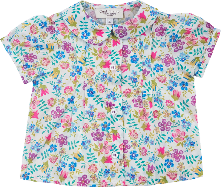 Baby Girl - Sonia Cotton Blouse