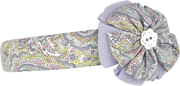 Girl - Cotton Headband With Print And Flower