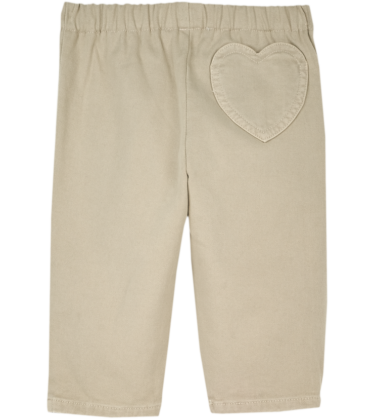 Baby Girl - Kelly Cotton Jeans With Heart Back Pocket
