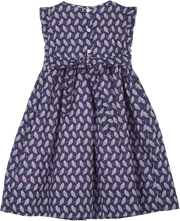 Girl - Lauren 100% Cotton Liberty Dress With Liberty Lining