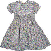 Baby Girl - Cotton Smocked Dress