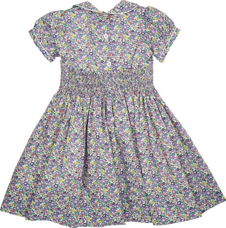 Girl - Cotton Smocked Dress