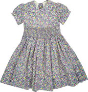 Girl - 100% Cotton Smocked Dress