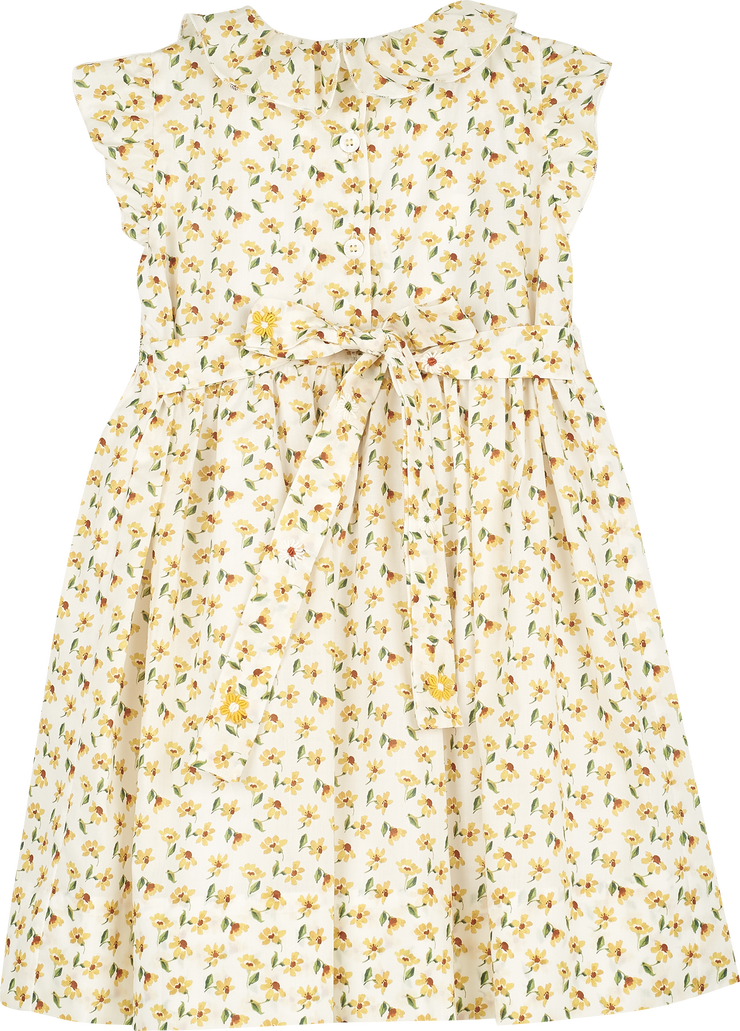 Girl - Gioia Cotton Smocked Dress