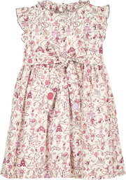 Girl - Wendy Cotton Smocked Dress