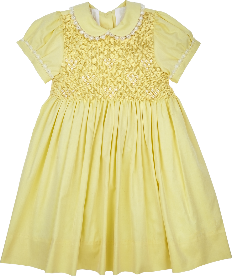 Baby Girl - Lisa Cotton Smocked Dress