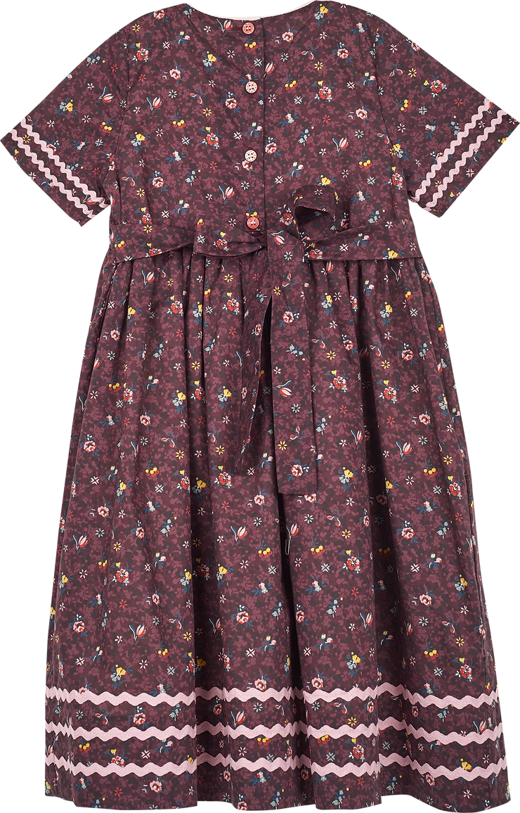 Girl - Alexia 100% Cotton Smocked Dress