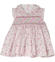 Baby Girl - Chiara Cotton smocked set