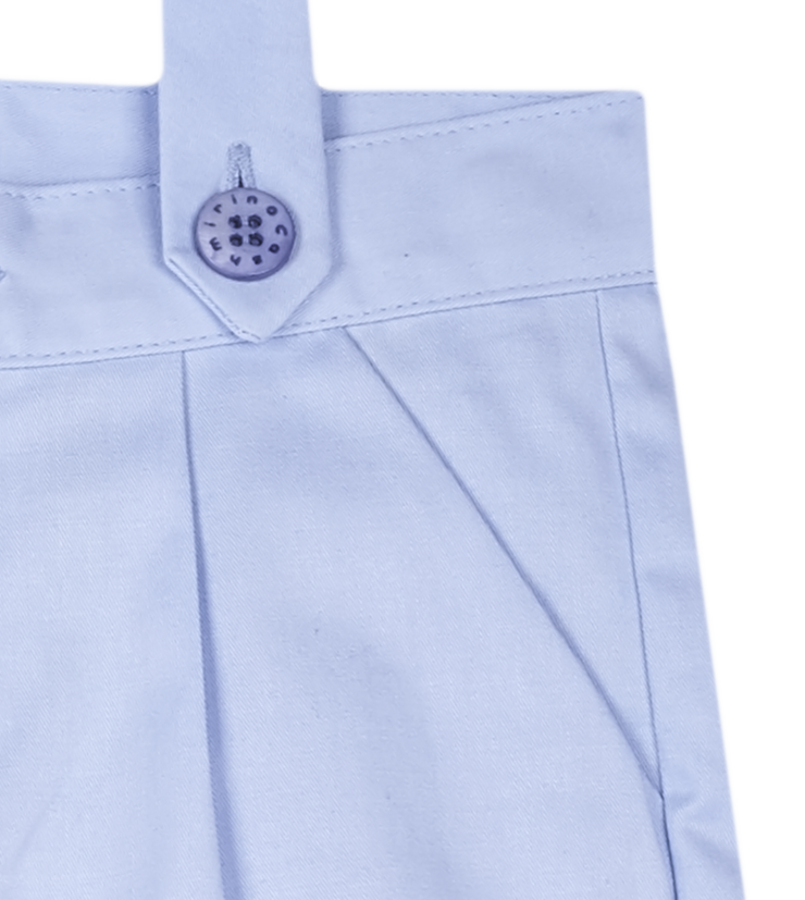 Baby Boy - Oscar 100% Cotton Shorts With Braces