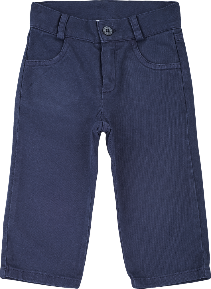 Baby Boy - Connor 100% Cotton Washed Jeans