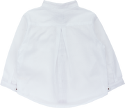 Baby Boy - Luca 100% Cotton Grandad Collar Shirt