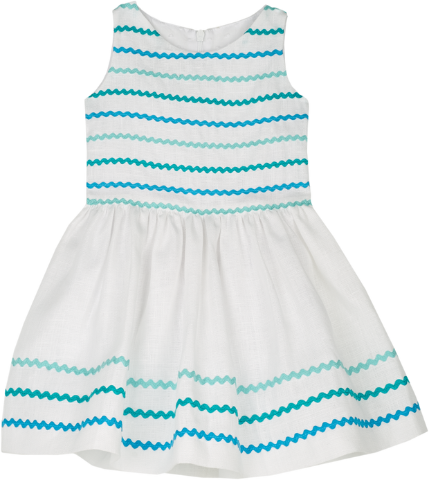 Baby Girl - Alice Linen Short Dress